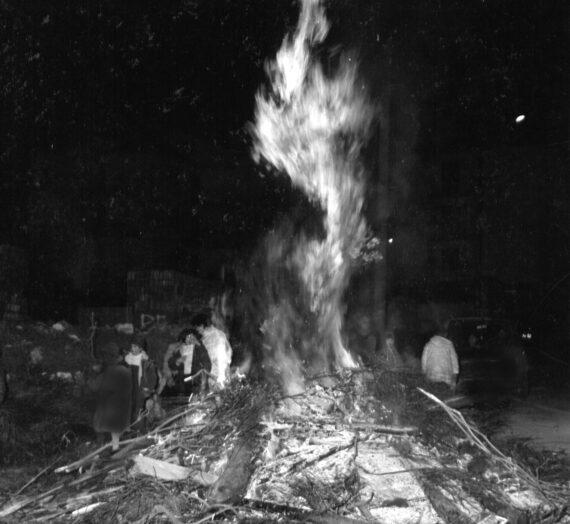 Fucanoi a Buccino (anno 1959) [Tradizioni buccinesi, 1]